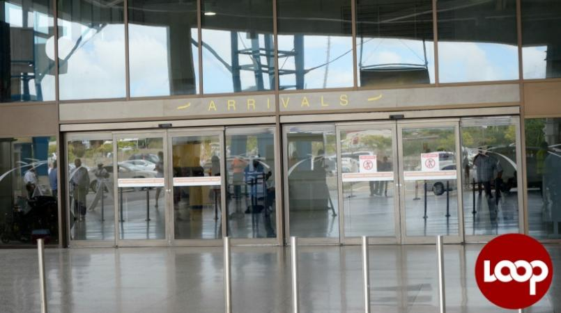 Arrivals at Barbados' Grantley Adams International Airport (FILE)