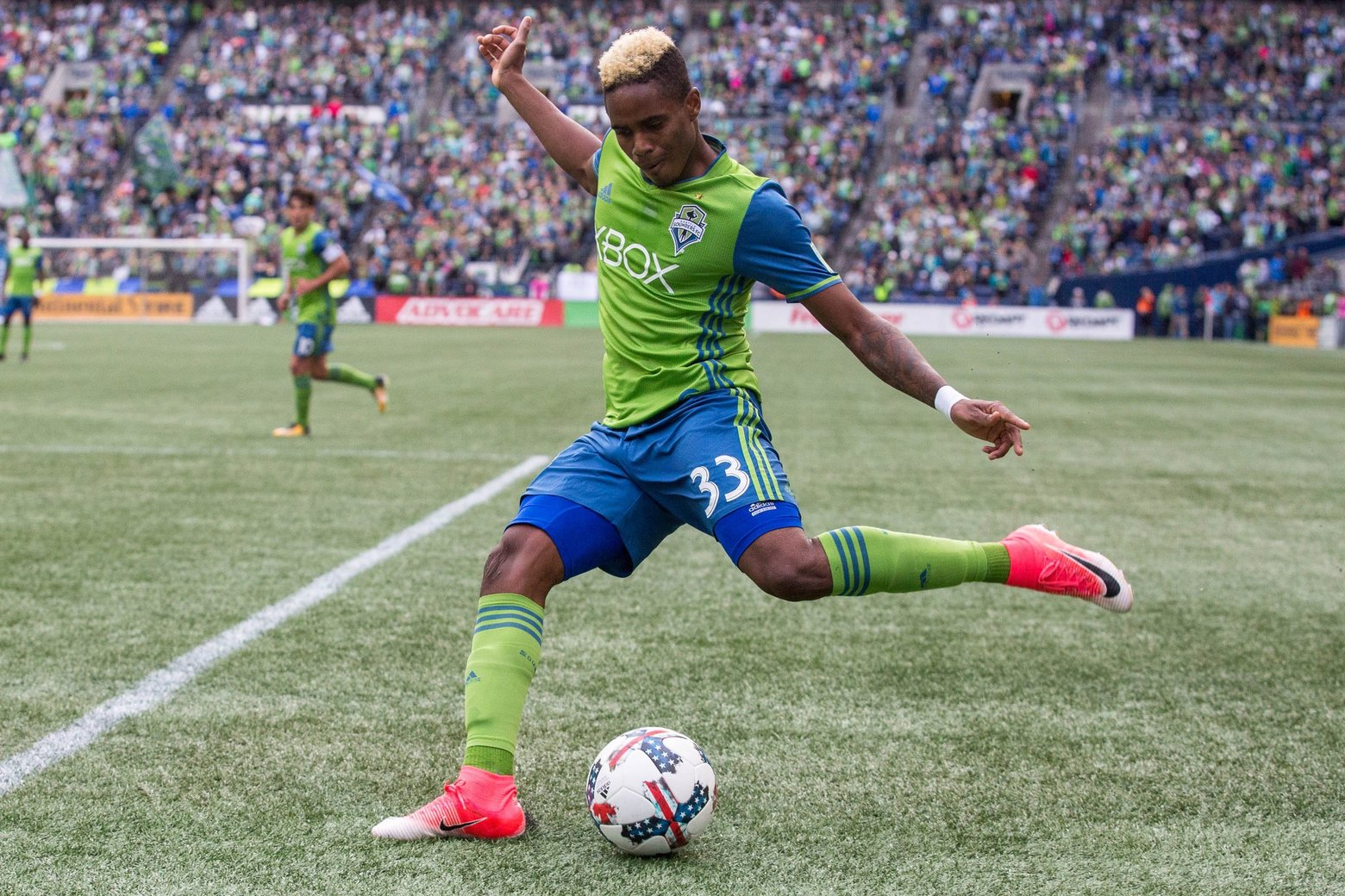 T&T international Joevin Jones played for 53 minutes of the Seattle Sounders 0-1 loss to the Portland Timbers on Wednesday
