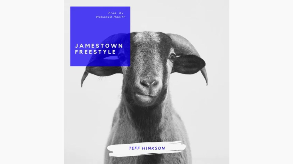 Cover Art for Teff Hinkson's latest single Jamestown Freestyle