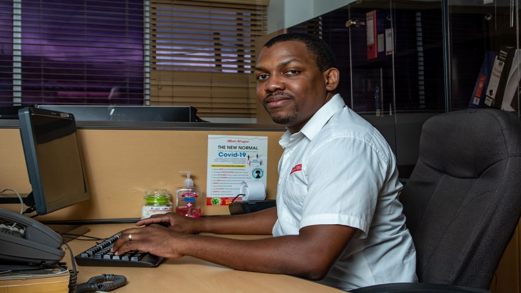 Jerome McGregor, manager for total productivity management at Red Stripe.