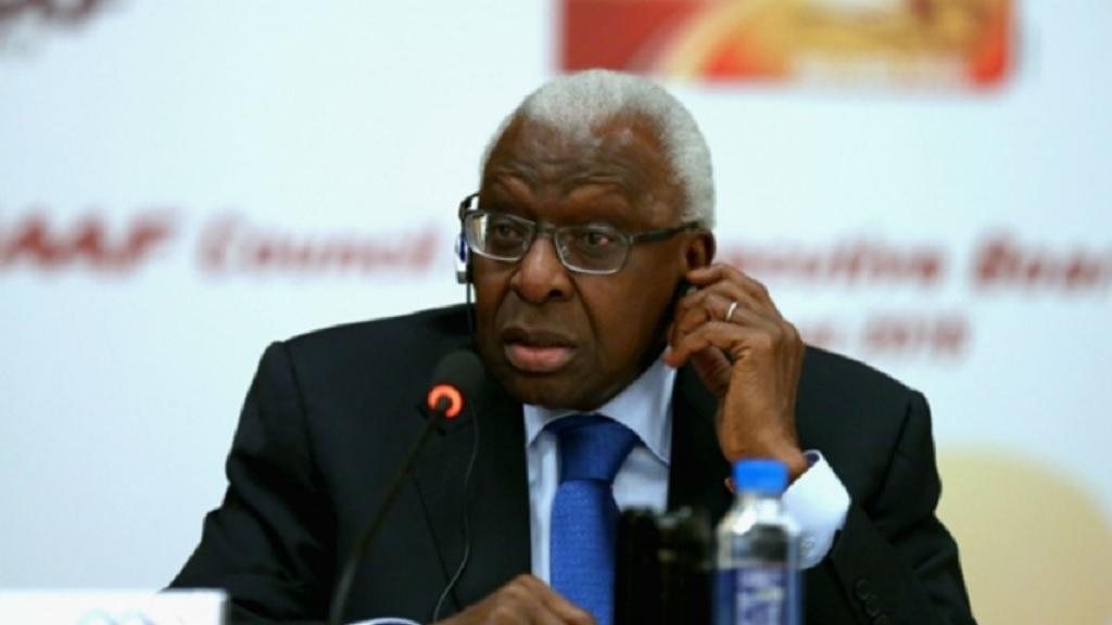 Former IAAF president Lamine Diack.