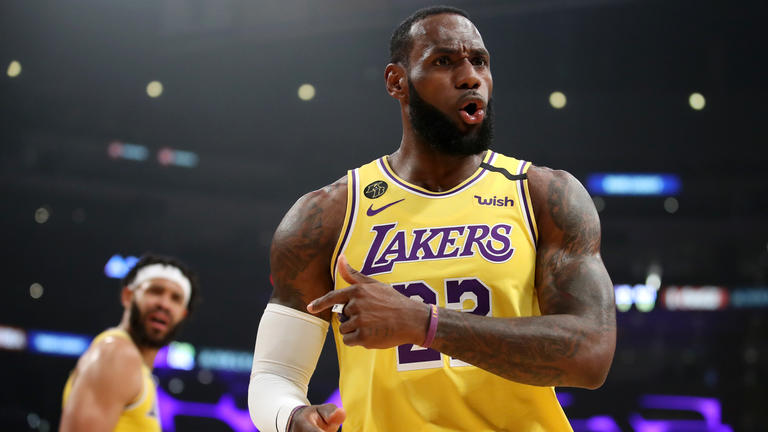 LeBron James (Los Angeles Lakers) | Katelyn Mulcahy / GETTY IMAGES NORTH AMERICA / AFP