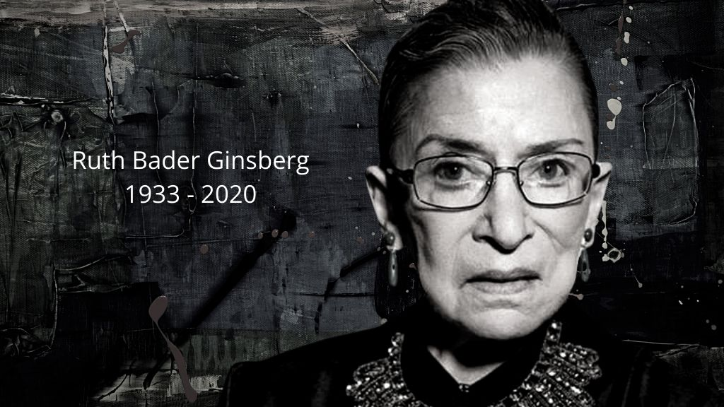 Photo: Justice Ruth Bader Ginsburg memorialised.