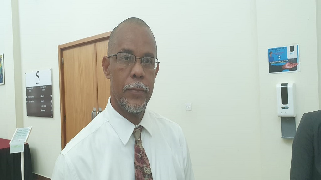Permanent Secretary of the Department of Physical Planning, Duane Louisy