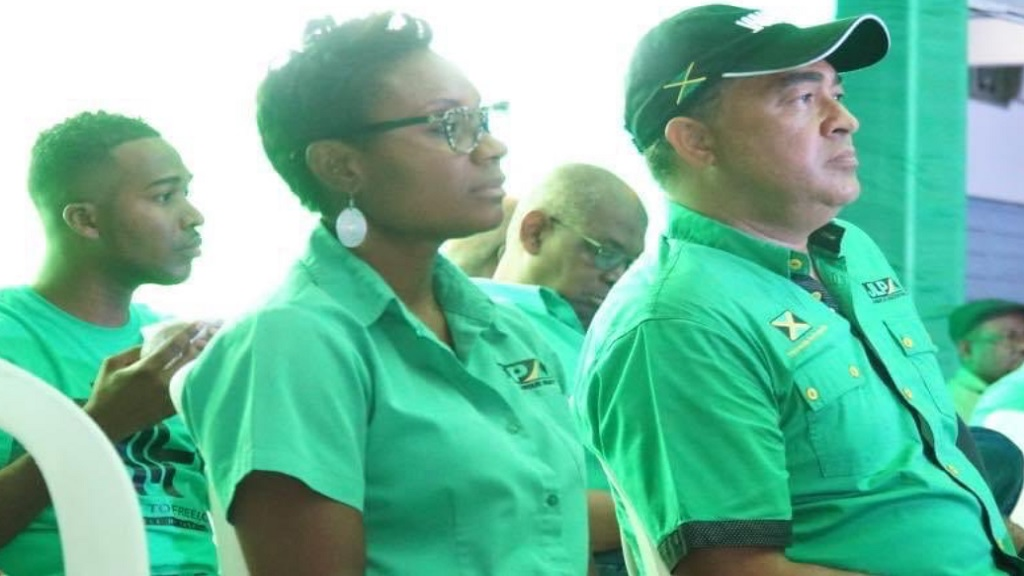 Juliet Cuthbert-Flynn (left) and Chris Tufton.