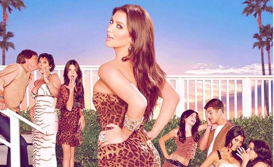 Couverture de la série Keeping Up With The Kardashian / Photo publiée sur le compte Instagram de Kim Kardashian