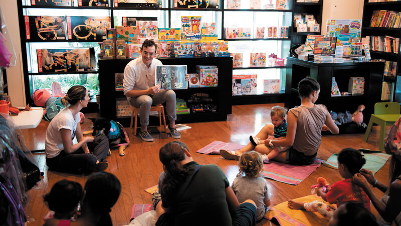 Families can enjoy in-store Story Times at Books & Books during Literacy Month.