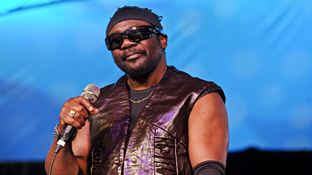 In this October 27, 2012 file photo, Toots Hibbert of Toots and the Maytals performs during The Voodoo Experience at City Park in New Orleans. Hibbert died on Friday, September 11, 2020. (Photo by Amy Harris/Invision/AP, File)