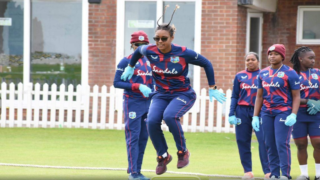 West Indies women in England.