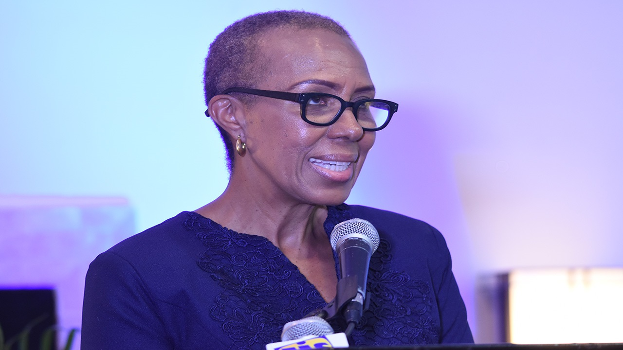 Minister without Portfolio in the Ministry of Finance and the Public Service, Fayval Williams.