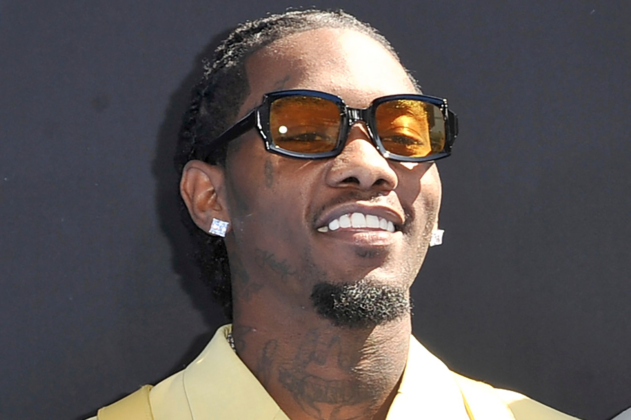 This Sunday, June 23, 2019, file photo shows Offset arriving at the BET Awards in Los Angeles. Police say a passenger in a car driven by Migos rapper Offset was arrested in Beverly Hills, California, Saturday, October 24, 2020, on charges of carrying a concealed, loaded firearm in public. The Beverly Hills Police Department tweeted that 20-year-old Marcelo Almanzar is being held on a $35,000 bail. (Photo by Richard Shotwell/Invision/AP, File)