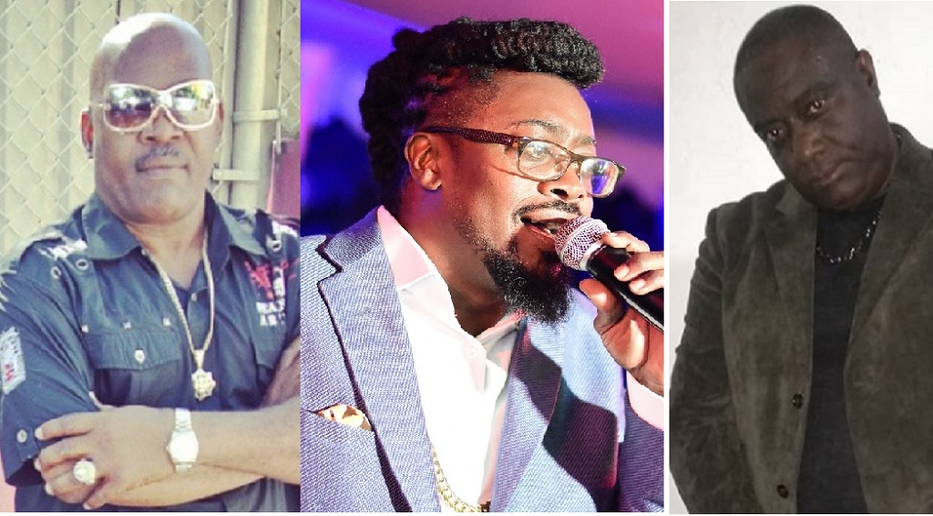 (From left) Josey Wales, Beenie Man and Admiral Bailey