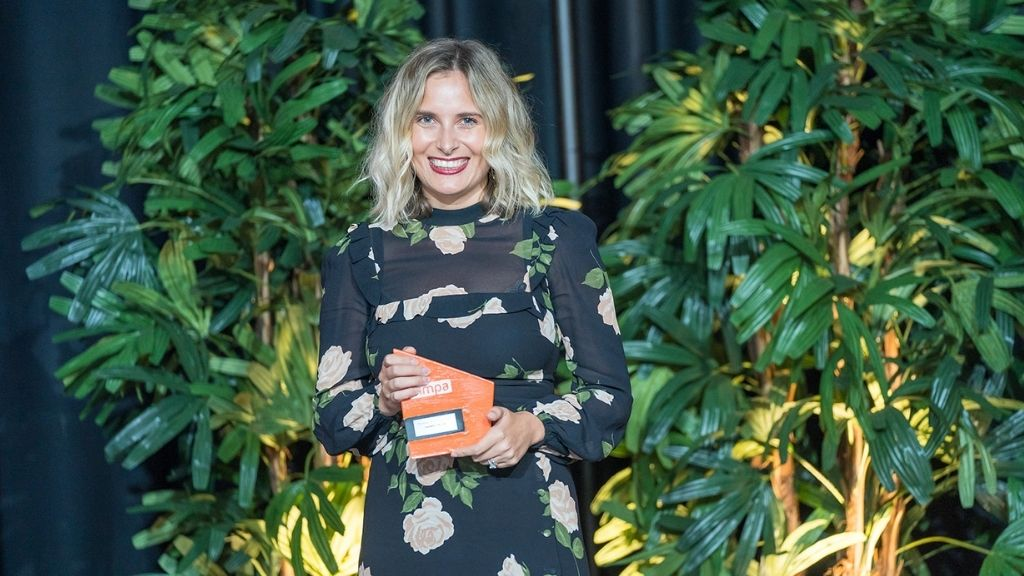 Harriet Moon of Not Your Standard Agency was named Marketer of the Year