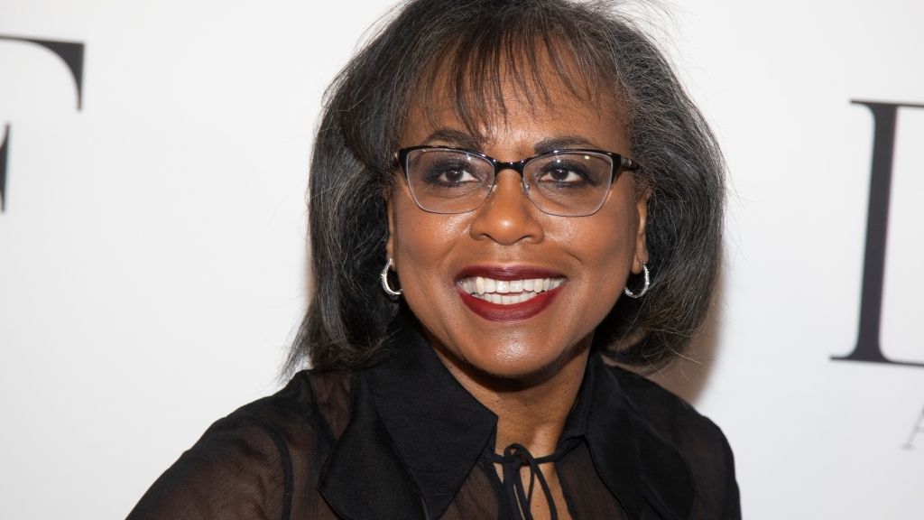 Anita Hill attends the 10th annual DVF Awards in New York on April 11, 2019. Photo: Andy Kropa/Invision/AP, File