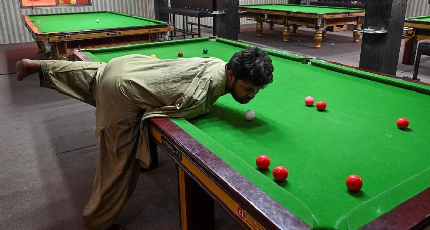 Muhammad Ikram porte des coups précis et puissants, à la force du menton ! (photo AFP)