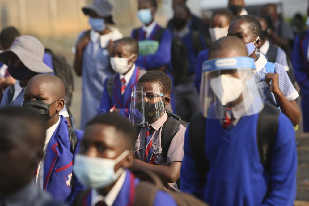 Schools re-opened on Monday, September 28 for thousands of Zimbabwean children. (AP Photo/Tsvangirayi Mukwazhi)