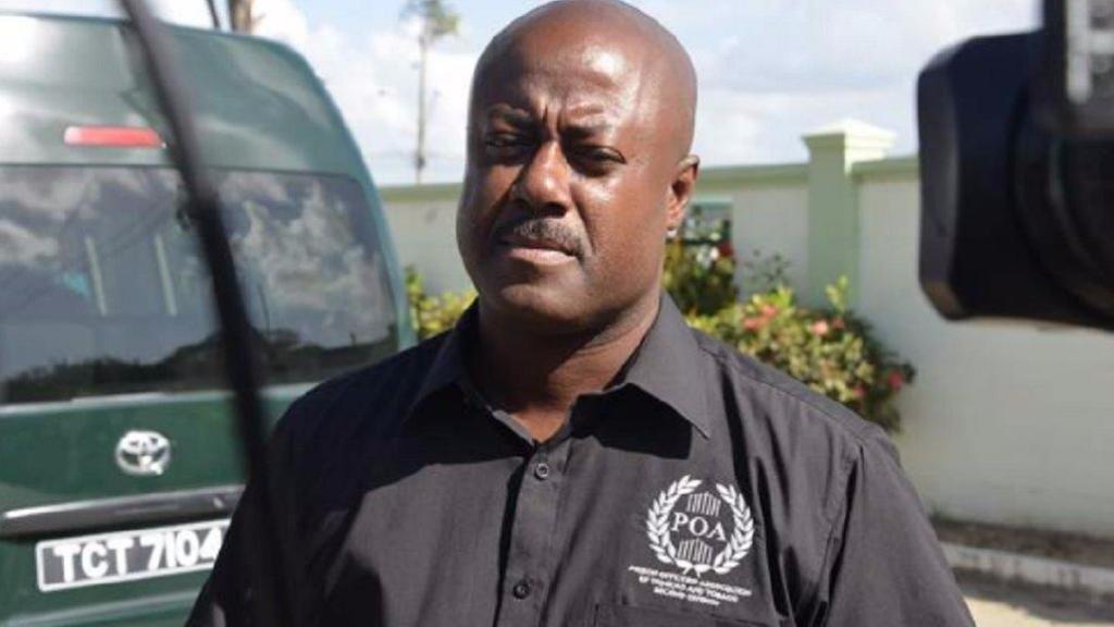 President of the Prison Officers' Association, Ceron Richards.