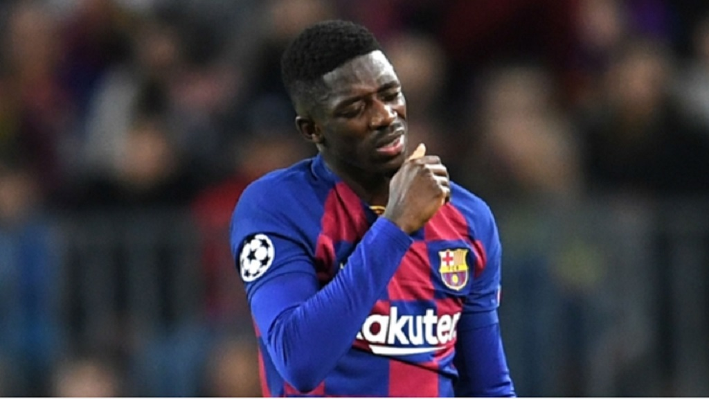 Barcelona and France star Ousmane Dembele.