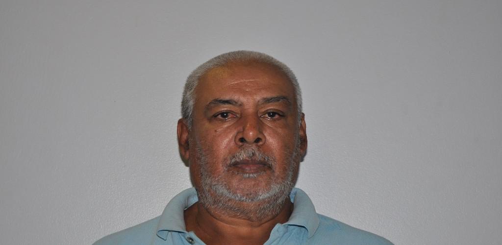 Pictured: Astro Stoute, 61, of Mt Pleasant Road, Arima (Photo: Trinidad and Tobago Police Service)
