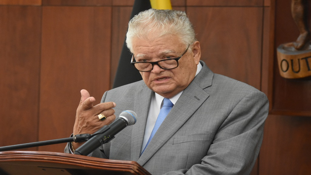 Karl Samuda, the minister overseeing the education portfolio.