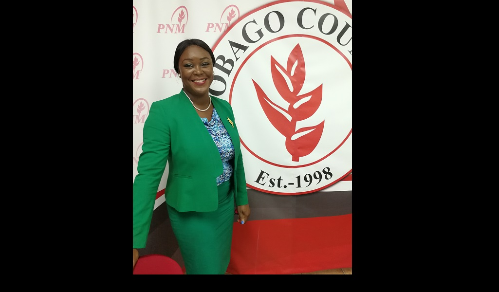 PNM Tobago Council Leader Tracy Davidson-Celestine