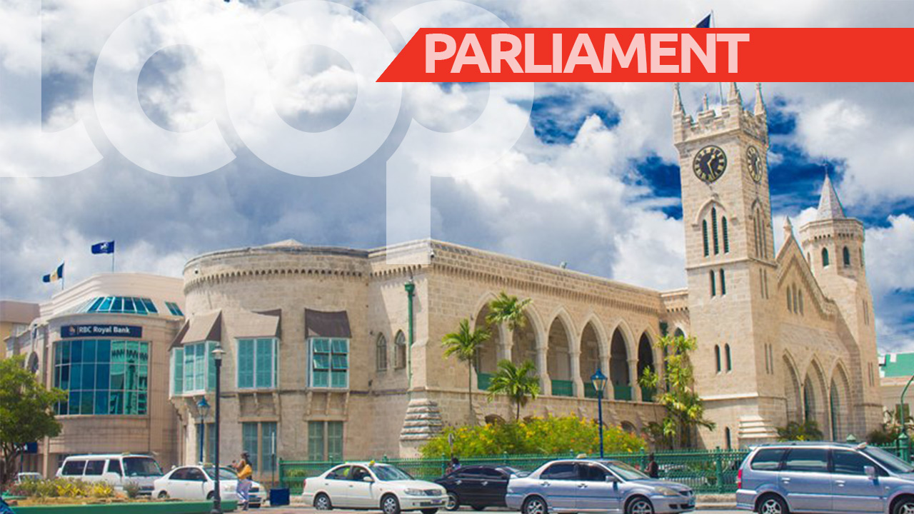 Barbados Parliament buildings in Bridgetown (FILE)