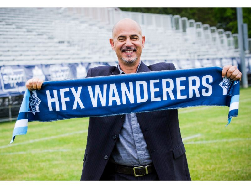 Former T&T head coach was appointed Canadian Premier League team HFX Wanderers FC head coach in June 2018. (Photo credit - Canadian Premier League)