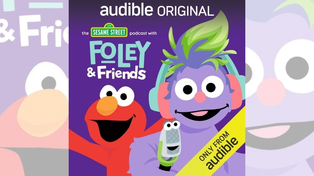 Sesame Street: Foley & Friends is now available for kids on Audible. (Photo via AP)