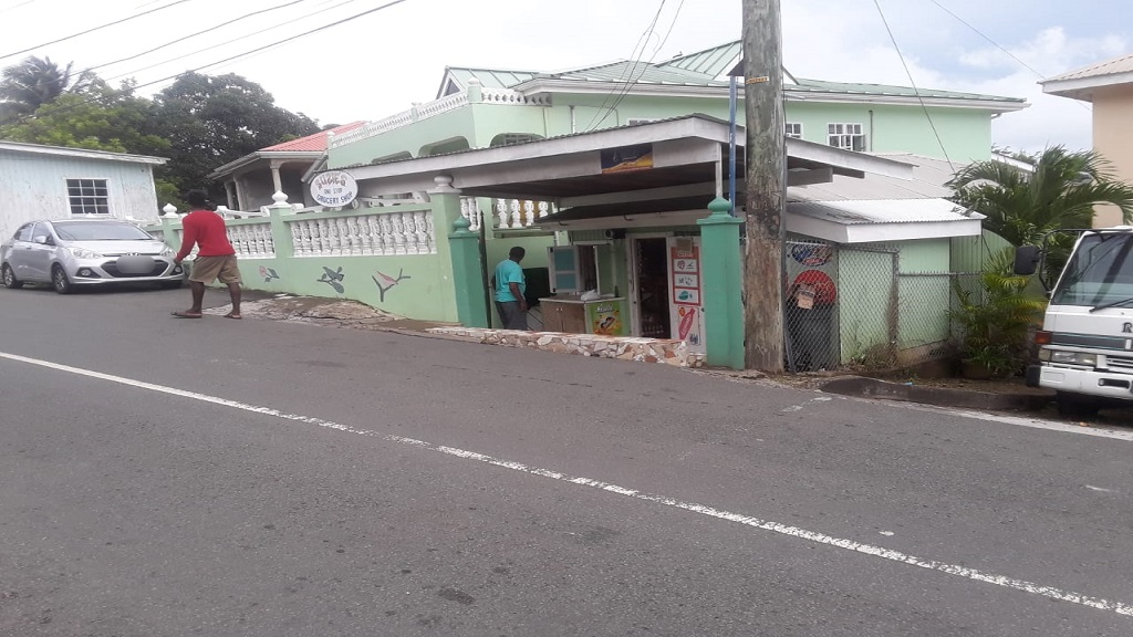 The minimart in Ciceron that was robbed on Tuesday.