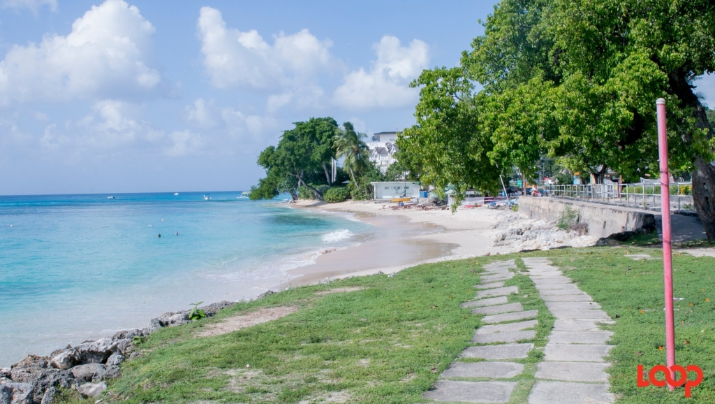 Payne's Bay beach by the Cubana monument in Barbados (FILE)