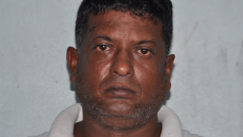 Photo: Ryan Lall was charged with breaching a protection order on October 4, 2020. Photo: the Trinidad and Tobago Police Service (TTPS).