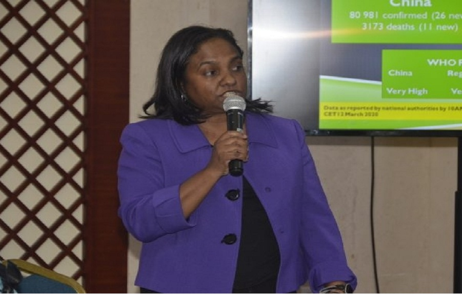 Regional Technical Director at the Western Regional Health Authority (WRHA), Dr Diane Campbell-Stennett.