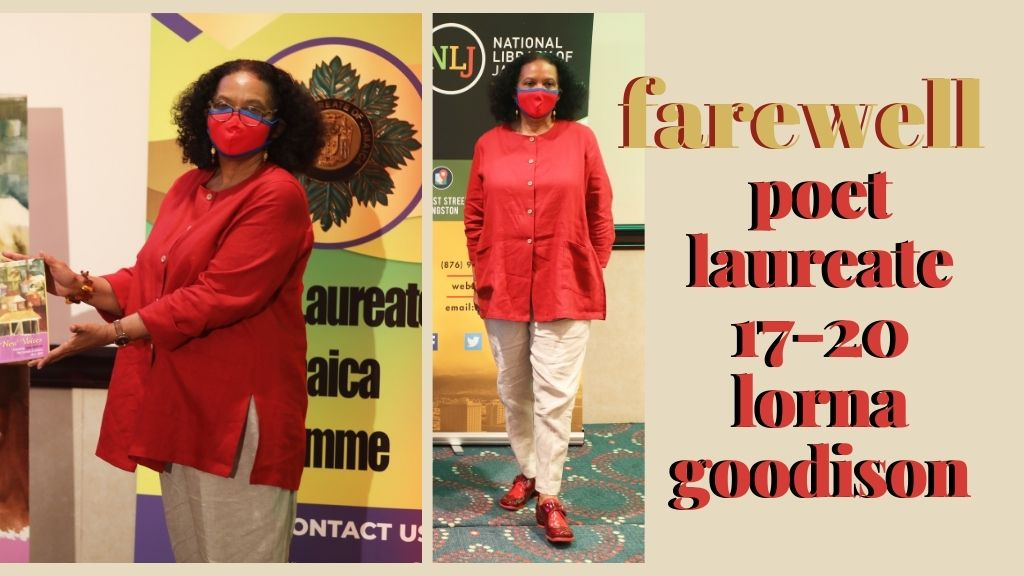 Jamaican poet Lorna Goodison demits office as Poet Laureate (2017-2020) . (Photos: Contributed)