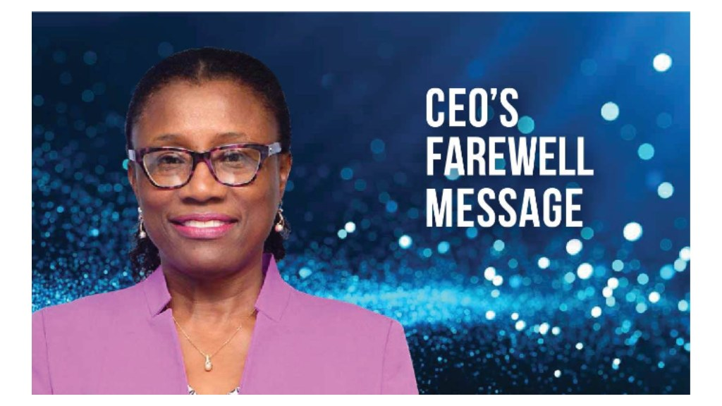 Sonja S. Trotman, Outgoing CEO of BIDC farewell message