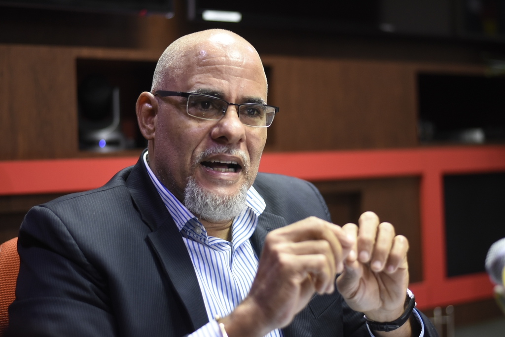 Co-chair of the Economic Programme Oversight Committee (EPOC) Keith Duncan.