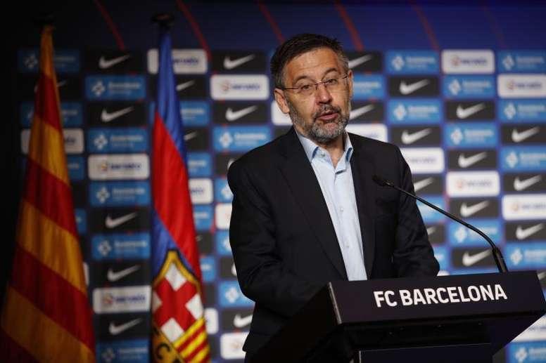 La direction du Barça demande la démission du président Bartomeu !. afp