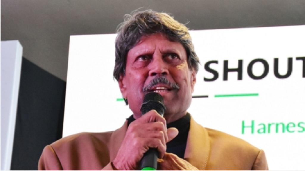 India legend Kapil Dev.
