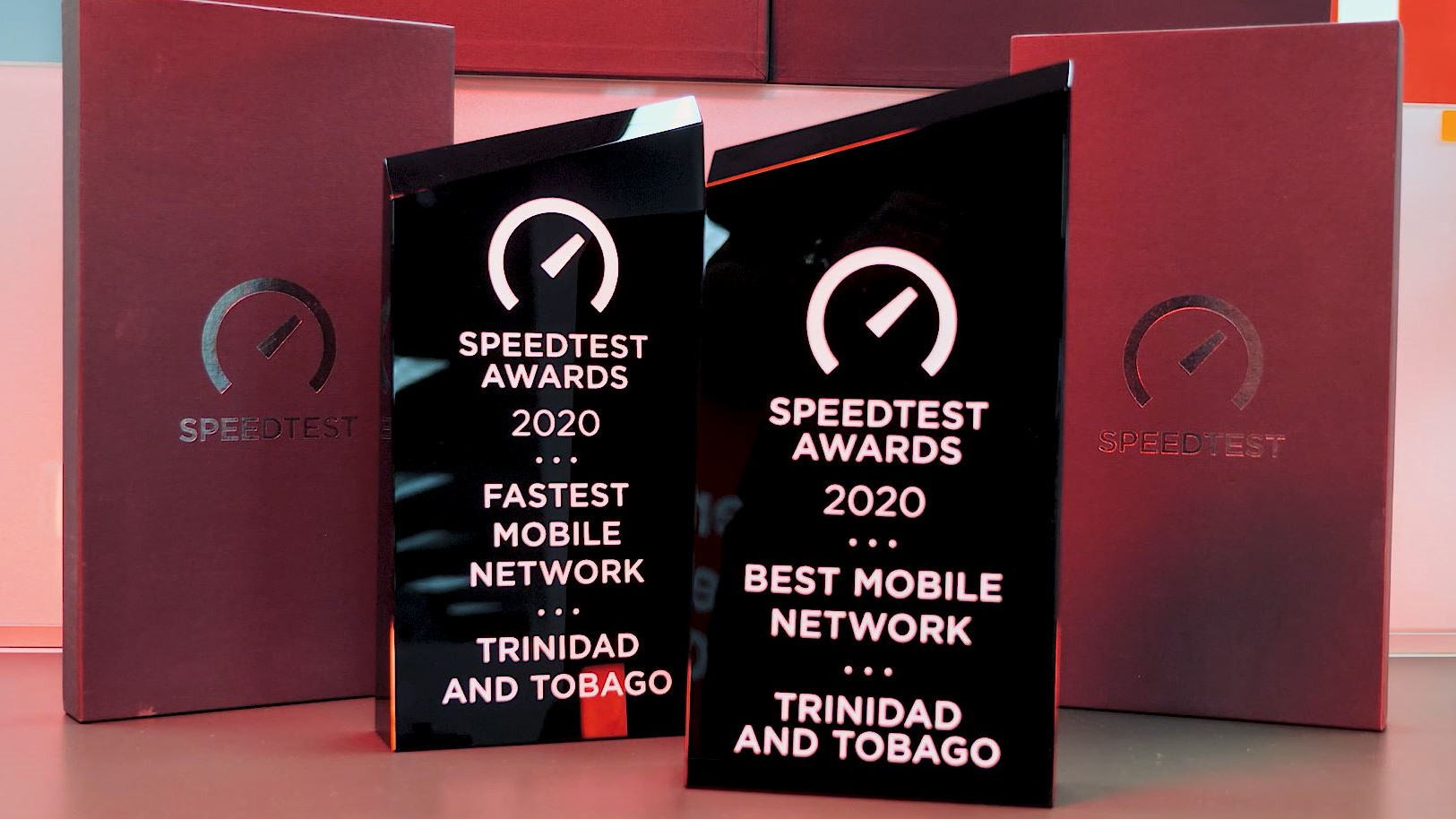 Digicel copped two prizes in the 2020OoklaSpeedtestAwards.