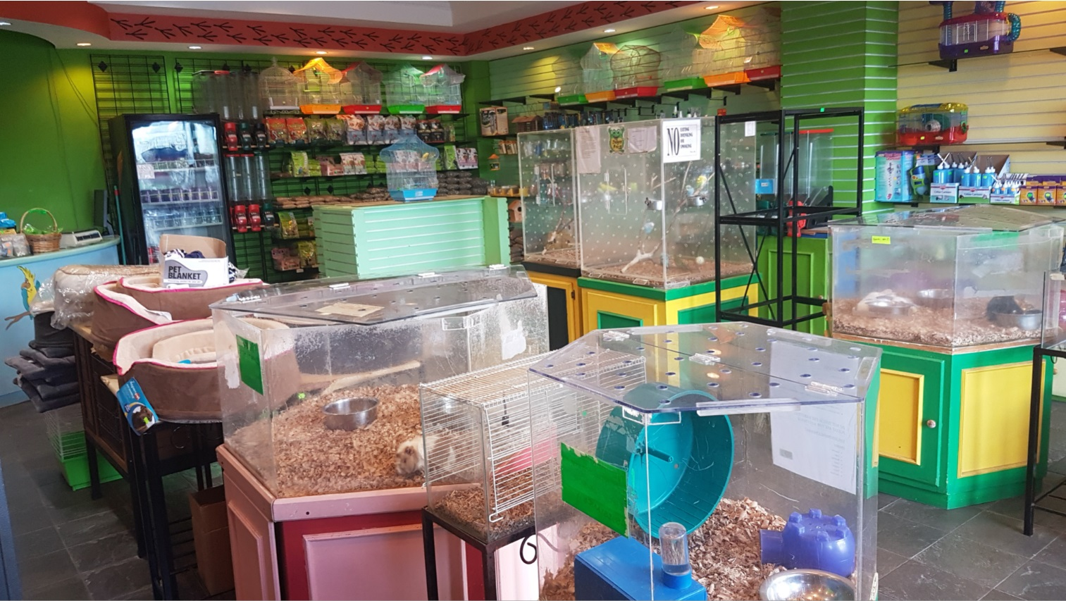 Funky Pets' in-store location at Trincity Mall.