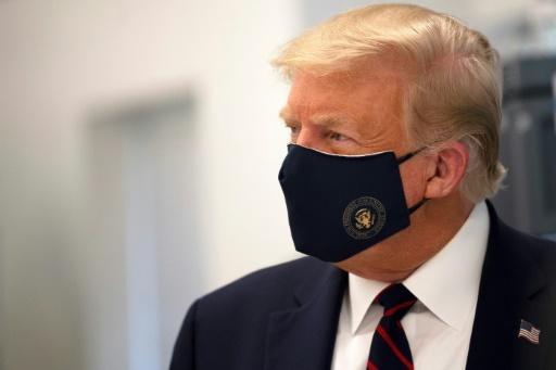 Donald Trump le 27 juillet 2020 à Morrisville, en Caroline du Nord - AFP/Archives