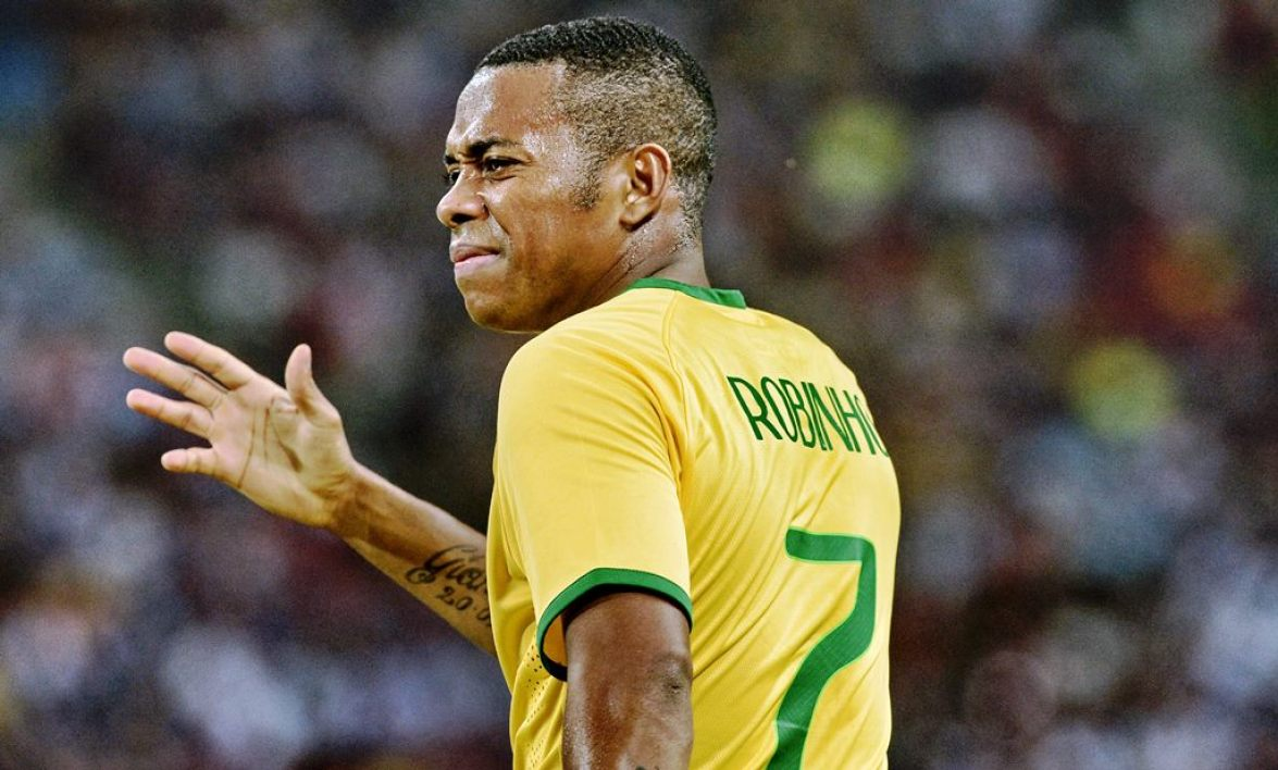 International football star Robinho.