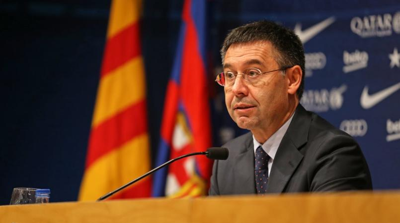 Barcelona president Josep Maria Bartomeu.