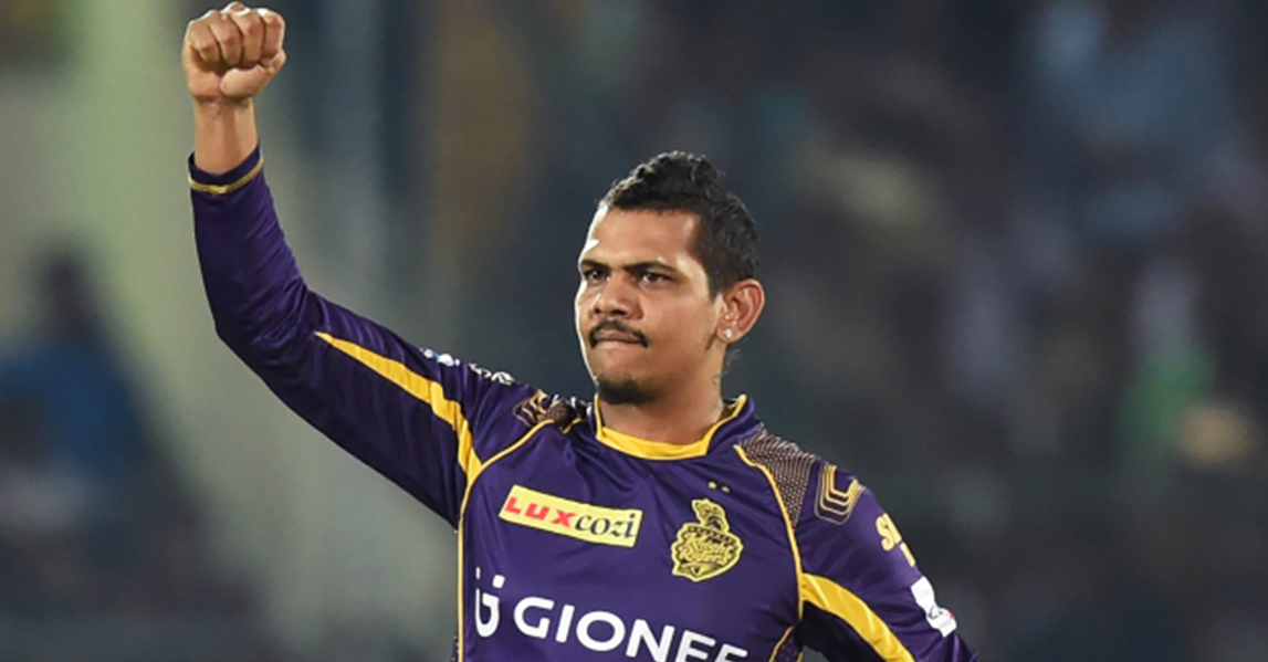 Kolkata's Sunil Narine took 2-28 to hand Punjab their fifth consecutive loss.