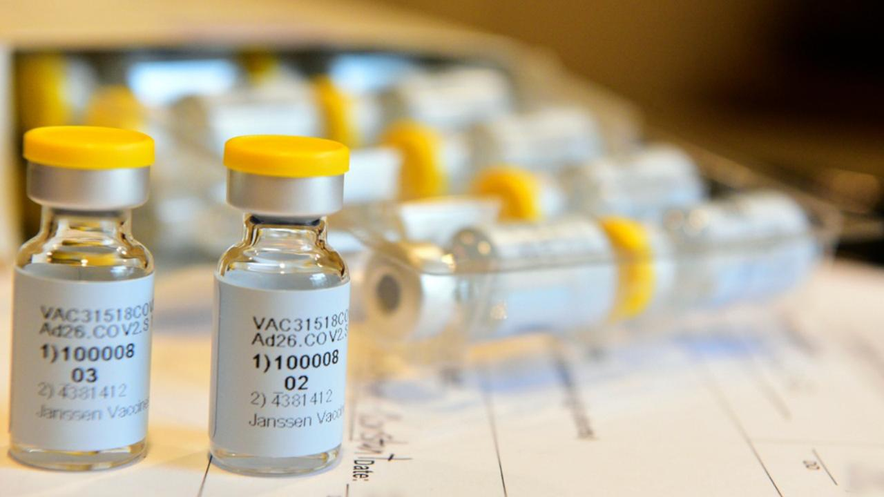 This September 2020 photo provided by Johnson & Johnson shows a single-dose COVID-19 vaccine being developed by the company. (Cheryl Gerber/Courtesy of Johnson & Johnson via AP, File)