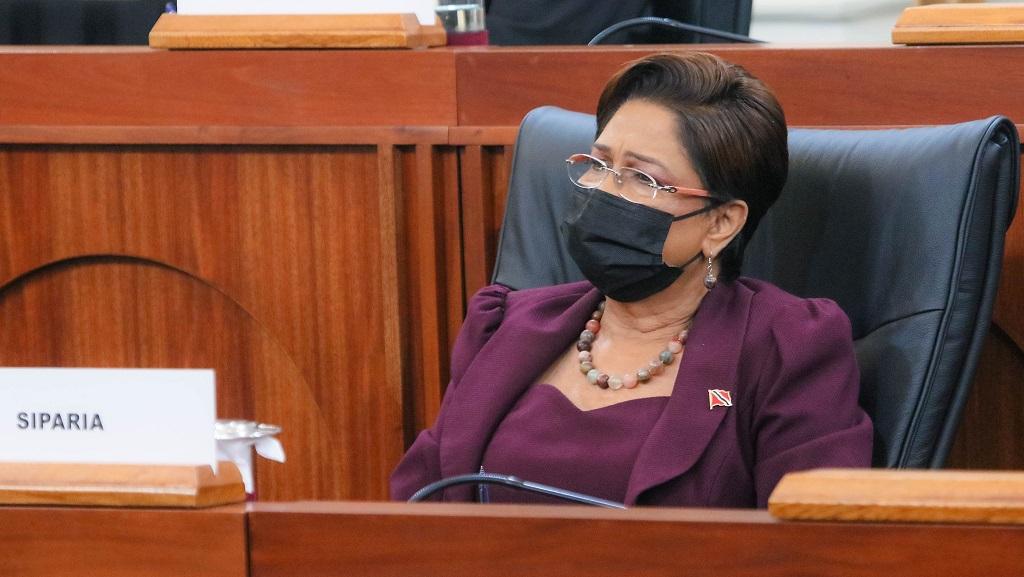 Photo: Opposition Leader, Kamla Persad-Bissessar.