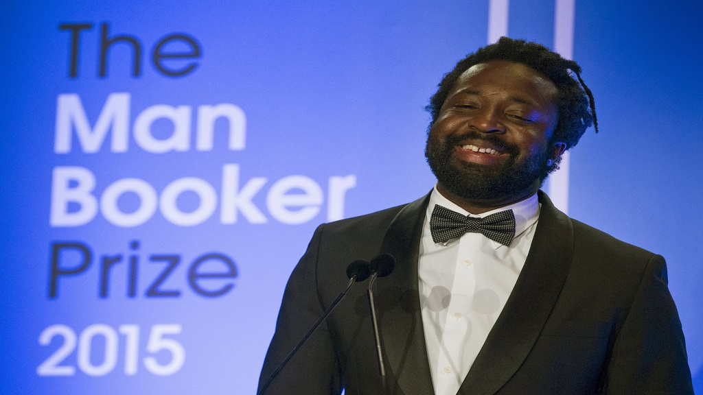 "In this October 13, 2015 file photo, Marlon James, author of ""A Brief History of Severn Killings"", speaks after being named as the winner of the Man Booker Prize for Fiction 2015, in London. (Photo: AP)"