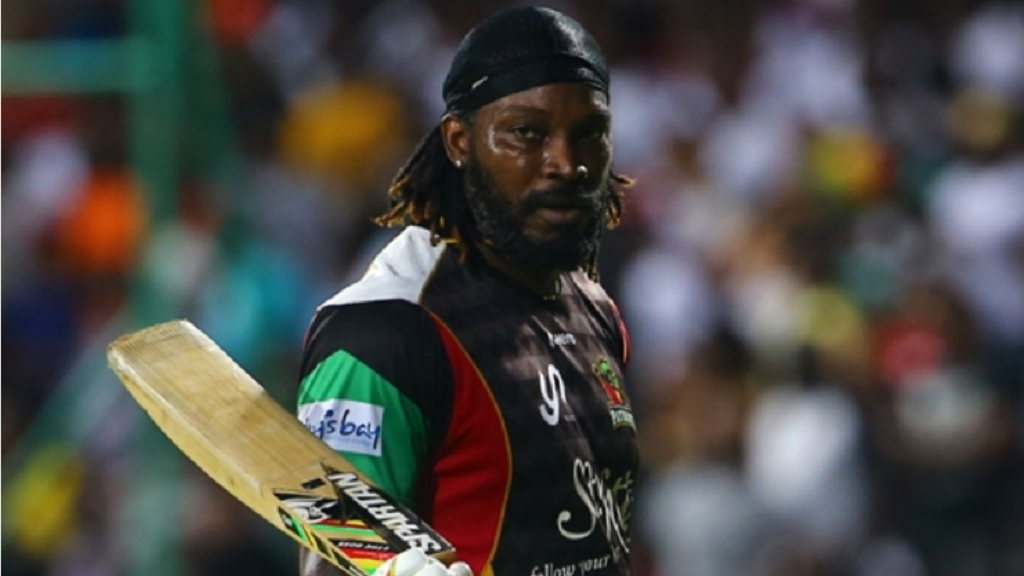 Chris Gayle marked his first appearance in the IPL this year with a half-century.