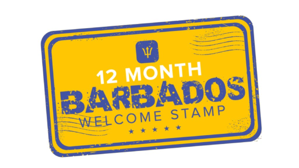 Barbados Welcome Stamp logo
