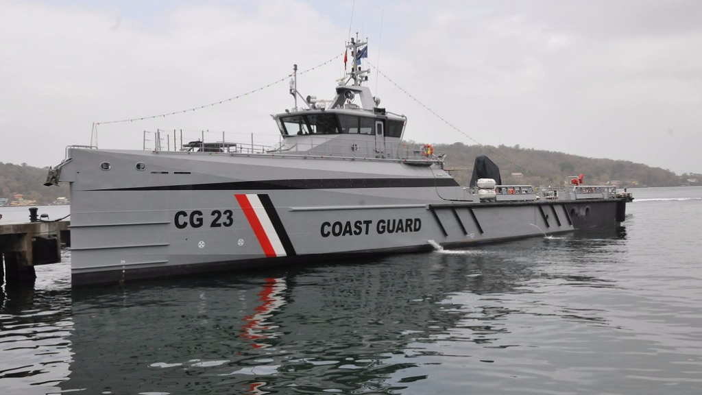 Trinidad and Tobago Coast Guard vessel