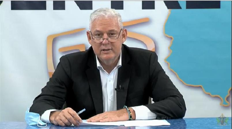 Prime Minister Allen Chastanet.